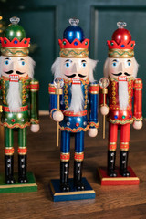 "Kurt S. Adler 15"" Wooden Royal Nutcracker Assortment"