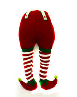 "40"" Fabric Elf Behind & Legs"