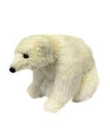 "7.5"" Frosted Polar Bear Ornament"
