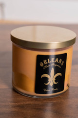 3 Wick Creme Brulee Candle