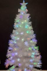 6' Fiber Optic Snowflake Tree