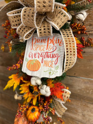 5 Steps to Craft Fall Swag For Your Home This Fall