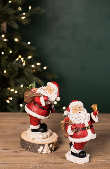 Jolly Santa with Gift Sack