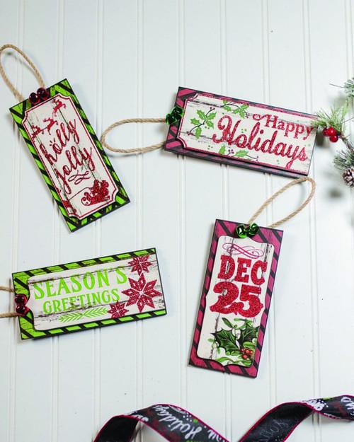 Nostalgia Christmas Tag Ornaments