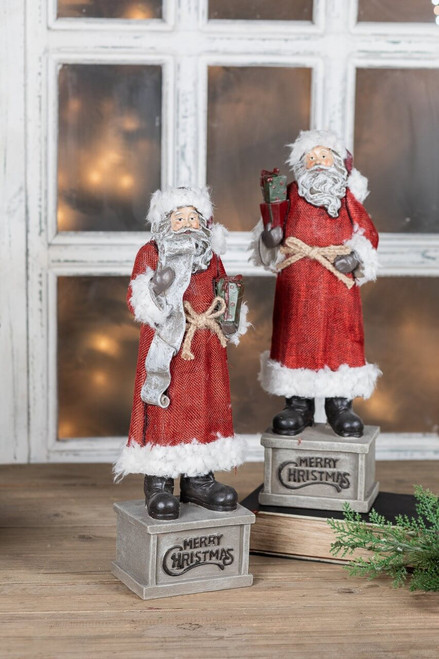 Resin Christmas Santa Figurines