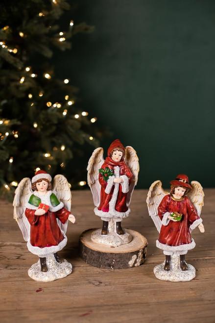 Resin Winter Angels