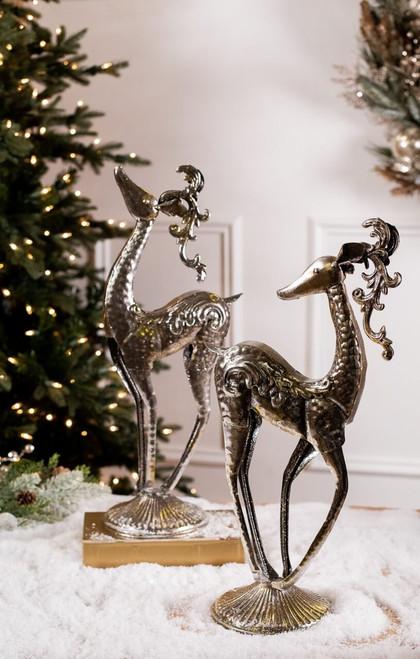Metal Fancy Reindeer