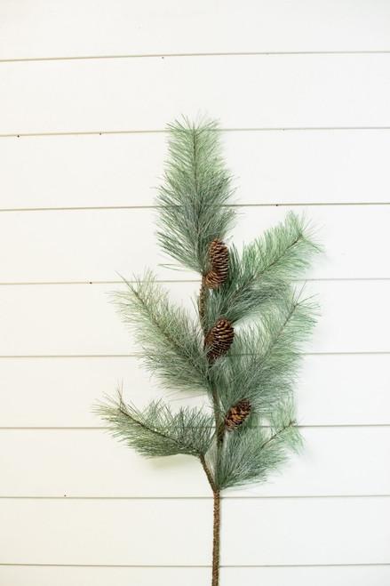 Pine Christmas Spray with Pinecones