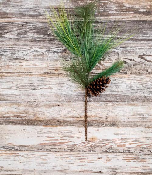 """28"""" Mixed Pine Spray"""