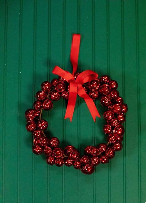 Metal Jingle Bell Christmas Wreath