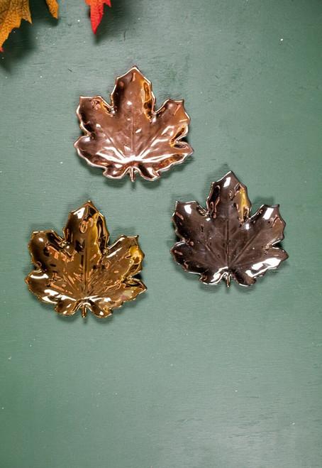 Maple Leaf Trinket Dish