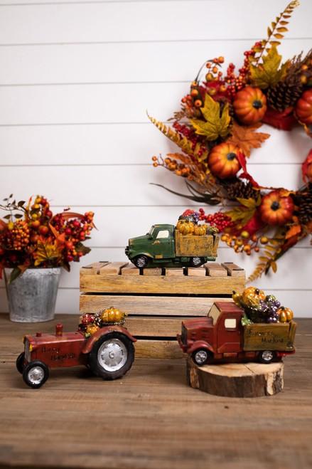 Resin Farmers Market and Pumpkin Patch Trucks