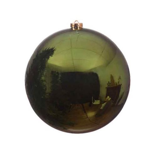 Pine Green Shatterproof Christmas Tree Ornaments- 20cm Diameter