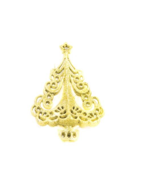 "5.5"" Gold Royal Standard Christmas Tree Ornaments"