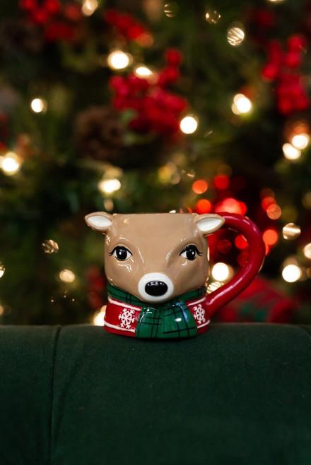 Reindeer Character Mug