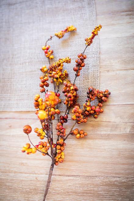 Fall Dew Berry Cluster Spray