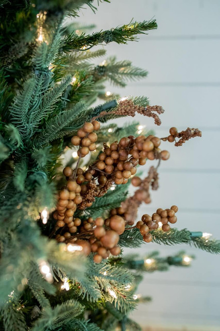 Brown Dew Berry Christmas Tree Spray Weather Resistant