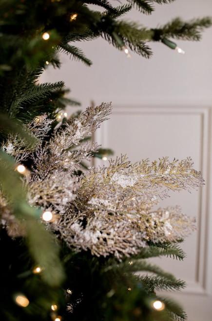 """30"""" Snow Cedar Christmas Tree Sprays"""