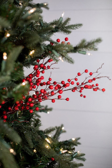 """37"""" Weeping Berry Christmas Tree Sprays"""