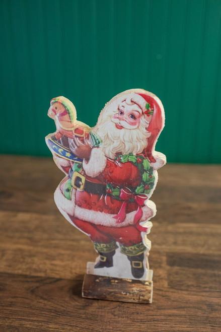 """14"""" Vintage Santa Standing"""