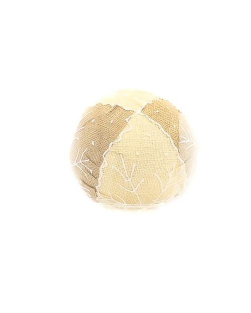 15cm Natural Snowflake Ball Ornament
