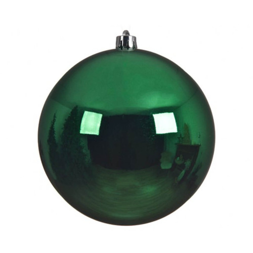 Holly Green Shatterproof Ornament - 14cm Diameter
