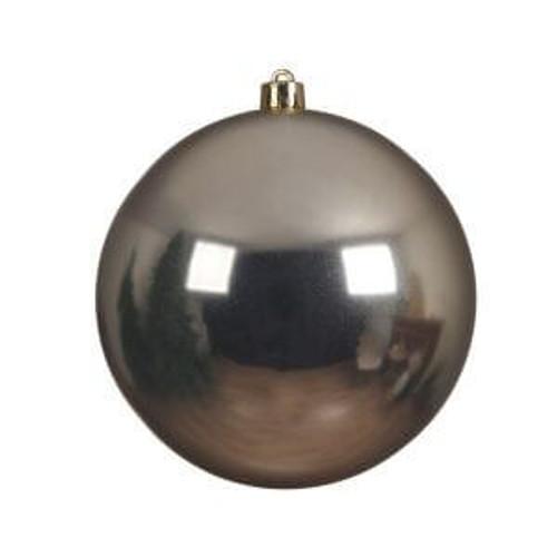 Champagne Shatterproof Ornament - 14cm Diameter