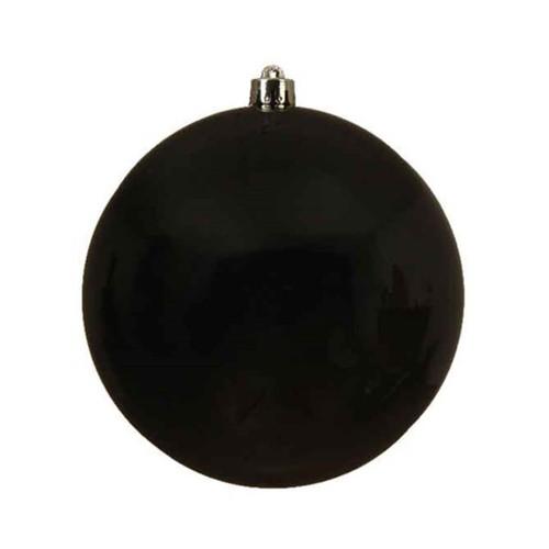 Black Shatterproof Ornament - 14cm Diameter