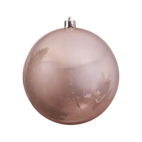 Blush Pink Shatterproof Ornament - 14cm Diameter