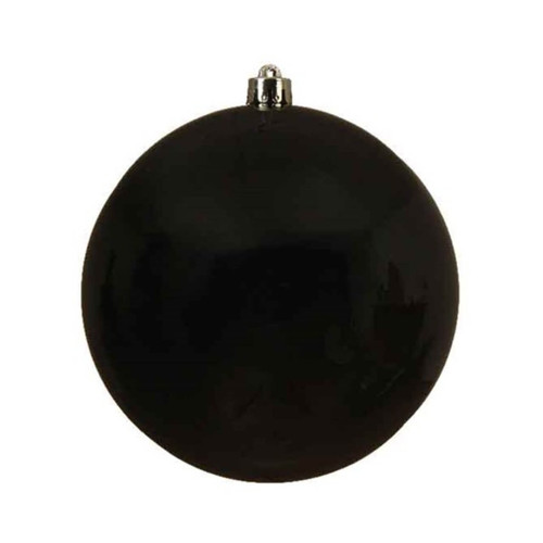 Black Shatterproof Ornament - 20cm Diameter