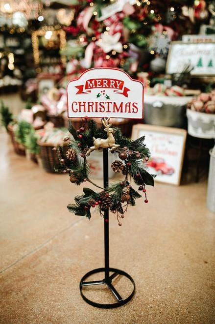 Merry Christmas Wreath Hanger
