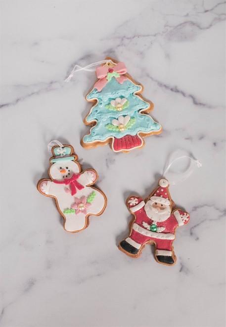 Pastel Clay Dough Ornament