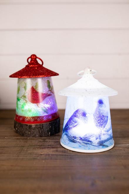 """7""""H Acrylic Bird Light Up Lantern"""