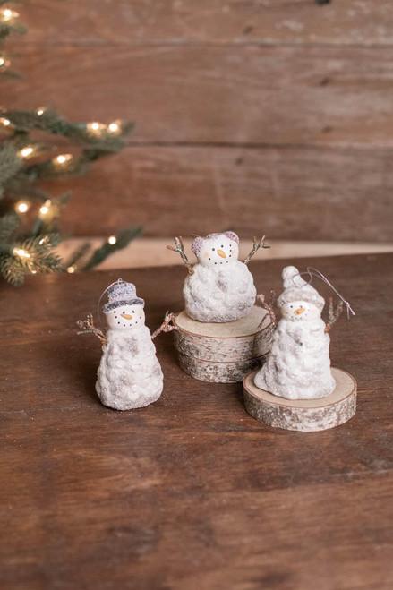 "3"" Snowman Ornament"