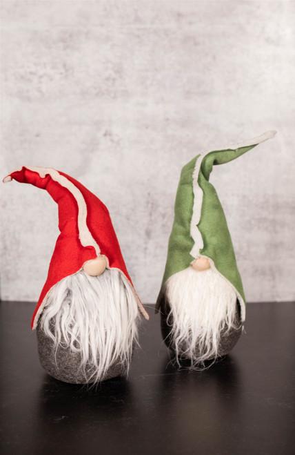 "14"" Holiday Plush Gnome Figurine"