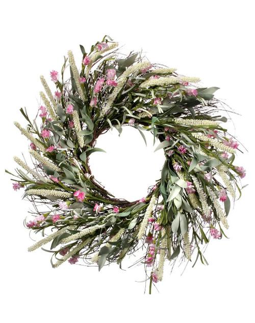 "24"" Thistle & Willet Wreath"