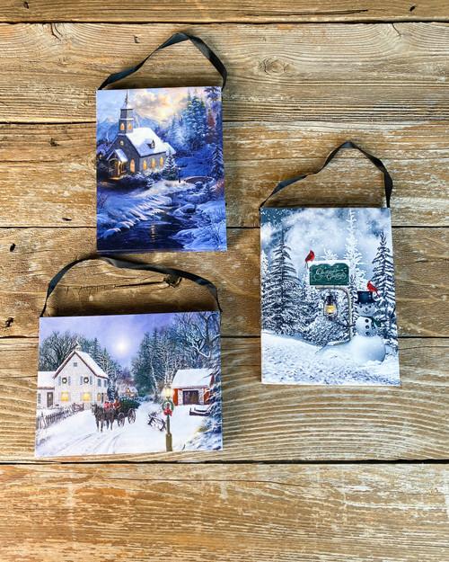 Canvas-Winter's Night Assortment