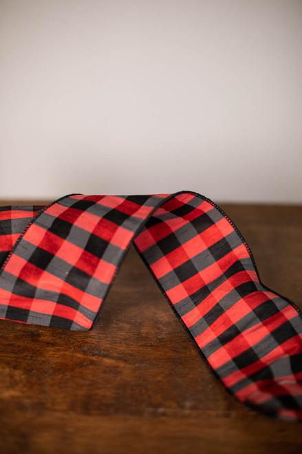 """4"""" x 10 Yard Apen Checks Ribbon"""