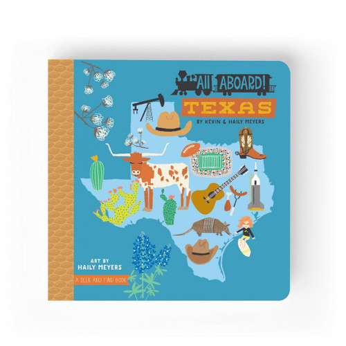 Lucy Darling Texas Seek And Find Board Book