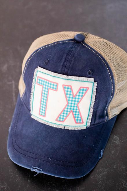 Texas Patch Trucker Hat