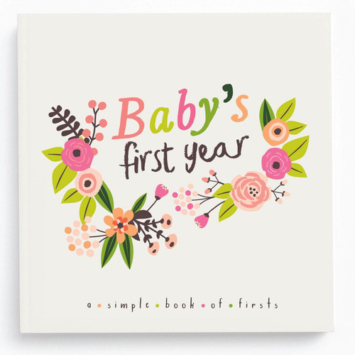 Lucy Darling Little Artist Baby's First Memory Book