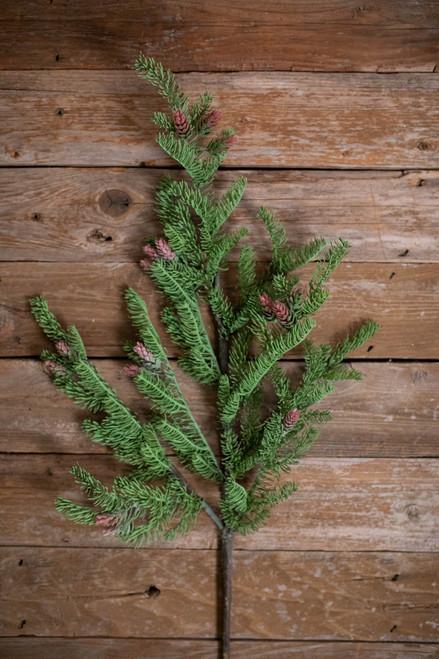 "47"" PE Spruce W/Cones Branch"