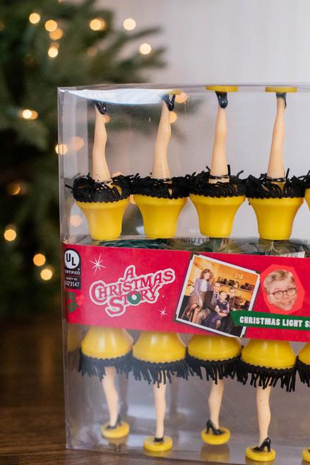 A Christmas Story Leg Lamp Christmas Light Set