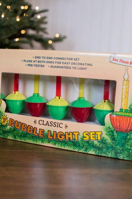 Kurt S. Adler Classic 7 Bubble Light Set