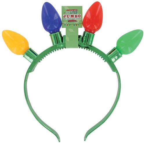 Flashing Lotsa Lites Holiday Headband