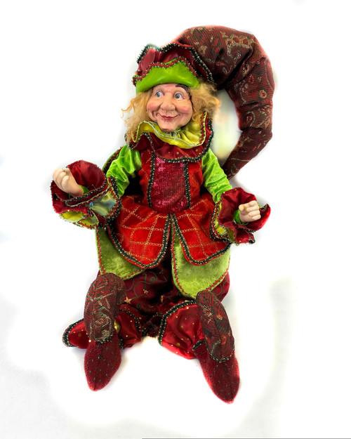 "20"" Hanging Elf"