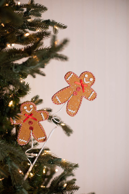 "25"" Gingerbread Christmas Spray"