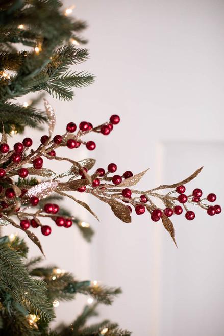 """32"""" Winter Berry Branch"""