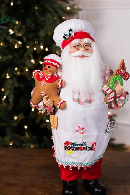 "18"" Standing Santa Baker Santa"