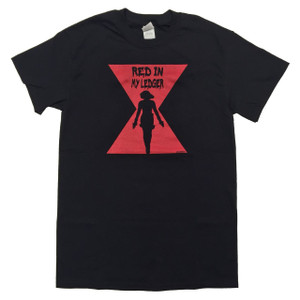 Black Widow T-Shirt: Red in My Ledger
